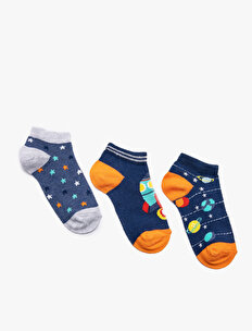 3 Pack Man Socks