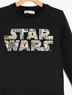 Star Wars Licensed Printed Sweatshirt
