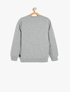 Emoji Licensed Printed Sweatshirt