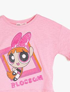 Powerpuff Girls Lisanslı Baskılı T-Shirt