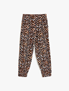 Zebra Patterned Trousers