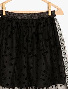 Letter Printed Skirt