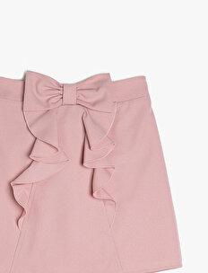 Frill Detailed Shorts