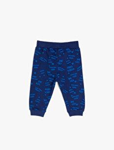 Letter Printed Joggings Pants