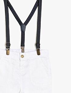 Belt Detailed Short