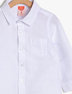 Cep Detaylı Gömlek