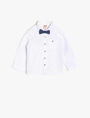 Koton Erkek Çocuk Cep Detaylı Gömlek
