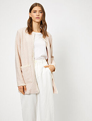 Koton Kadın Kumas Özellikli Ceket
