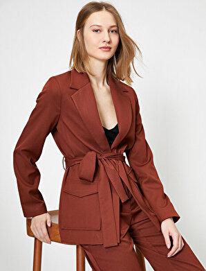 Koton Kadın Kemerli Blazer Ceket