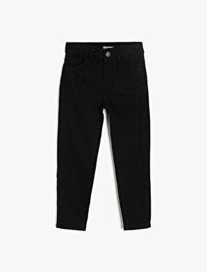 Koton Erkek Çocuk 5 Cep Basic Slim Dar Paça Jean Pantalon