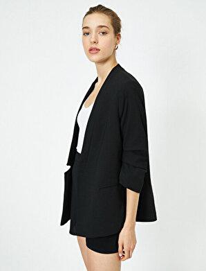 Koton Kadın 3/4 Kollu Blazer Ceket
