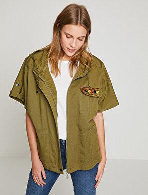 Koton Kadın Islemeli Ceket