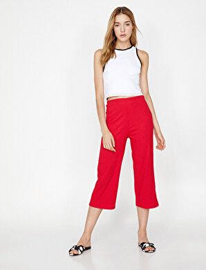 Koton Kadın Normal Kesim Pantolon