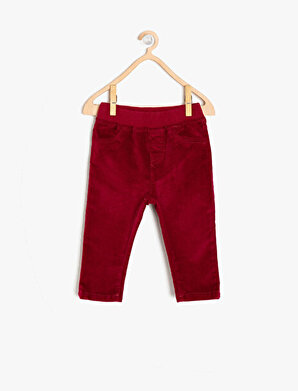 Koton Kız Çocuk Cep Detaylı Pantolon