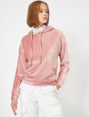 Koton Kadın Kapüsonlu Sweatshirt