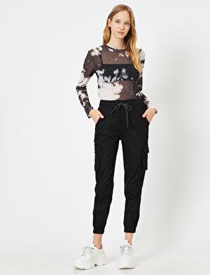 Koton Kadın Cep Detaylı Kargo Pantolon
