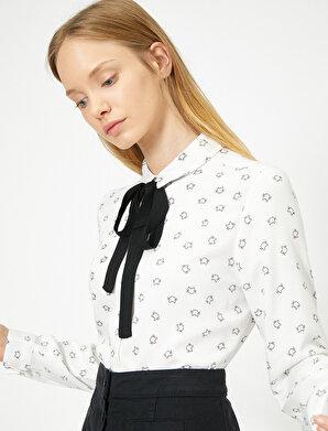 Koton Kadın Baskili Gömlek