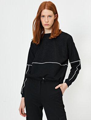 Koton Kadın Beli Bağlamalı Sweatshirt
