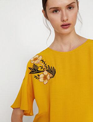 Koton Kadın İşlemeli Bluz
