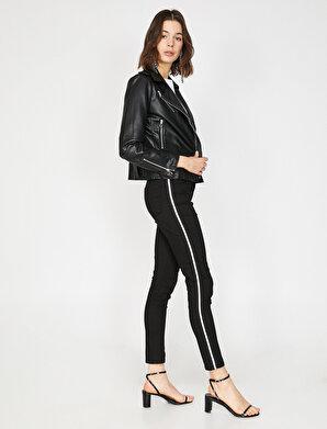 Koton Kadın Serit Detaylı Pantolon