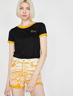 Koton Kadın Aplikeli T-Shirt