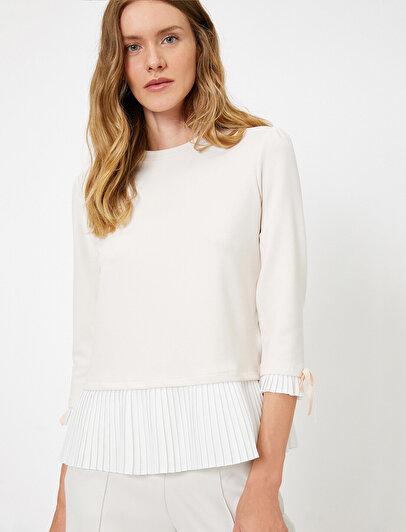 Sleeve Detailed T-Shirt