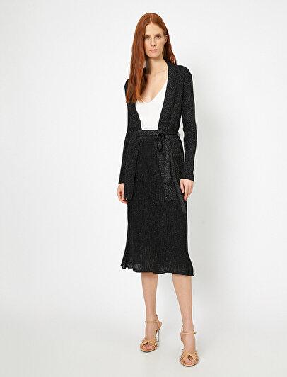 Shimmer Detailed Skirt