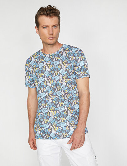 Simpsons Licenced Printed T-Shirt