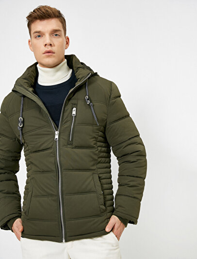 Hooded Puffer Coat