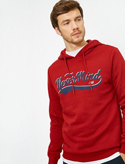 Letter Printed Sweatshirt