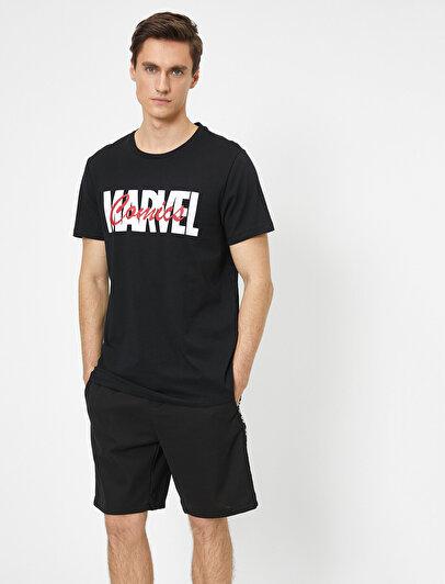 Marvel Lisanslı Baskılı T-Shirt