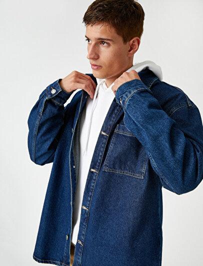 Jean Shirt Jacket Cotton