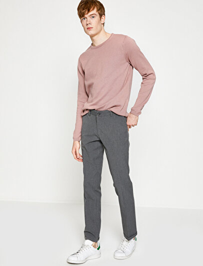 Medium Rise Trousers