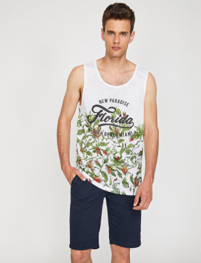 Patterned Tanktop