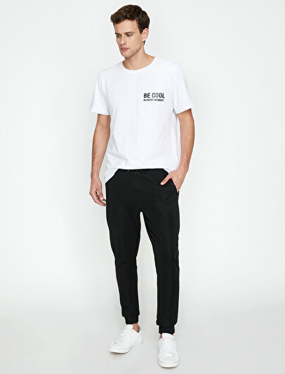 Pocket Detailed Joggings Pants