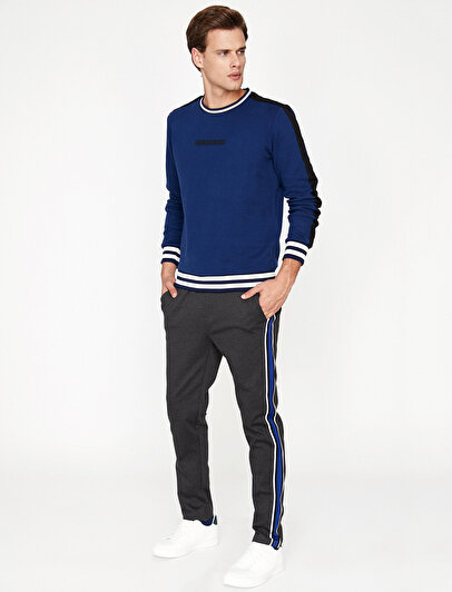 Banded Detailed Jogging Pants