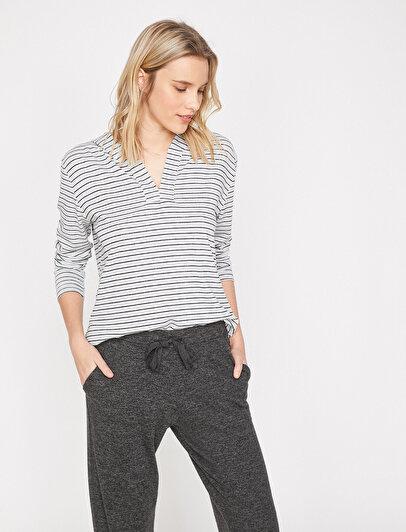 Hooded Pyjama Top
