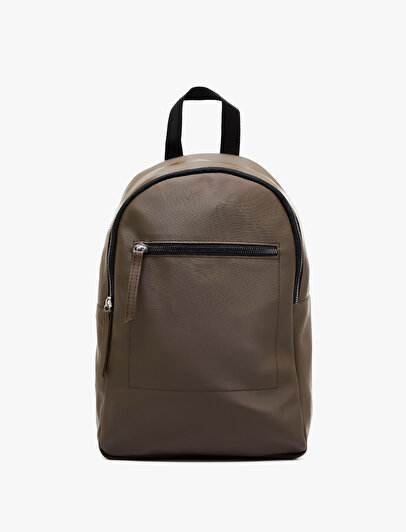 Zipper Detailed Backpack
