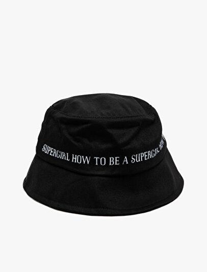 Yazılı Baskılı Şapka