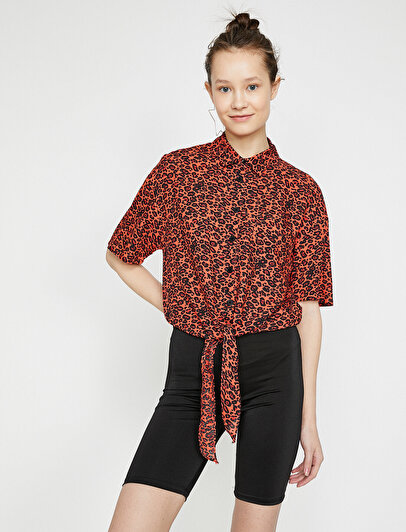Leopard Patterned Shirt