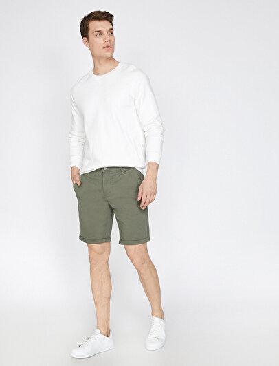 Pocket Detailed Shorts