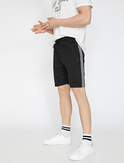 Banded Detailed Shorts