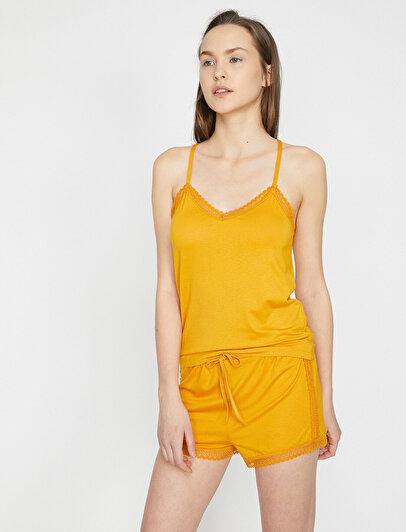 Sphagetti Strap Pyjama Top