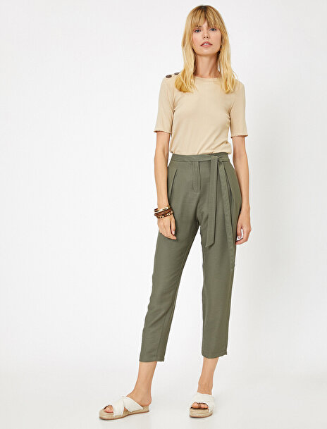 Koton Kadın Cep Detayli Pantolon
