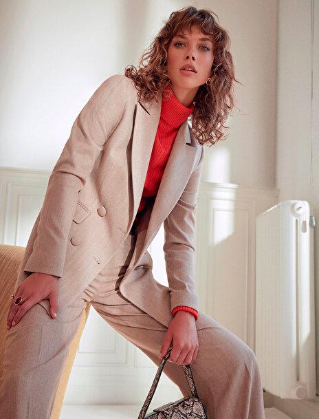 Koton Kadın Cep Detayli Ceket