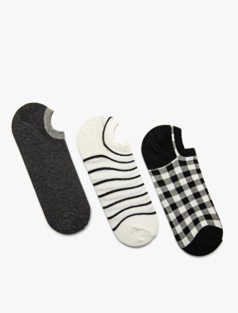 Kadın 3'lü Kadin Çorap