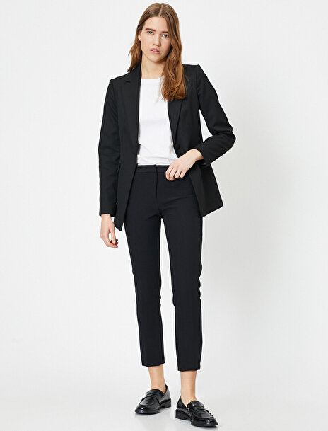 Koton Kadın Cepli Basic Kumas Pantolon