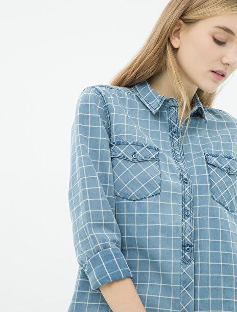 Kadın Kareli Gömlek