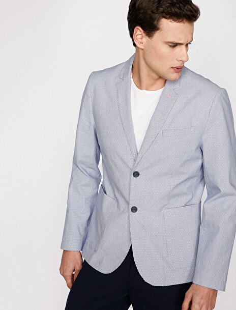Erkek Cep Detayli Ceket