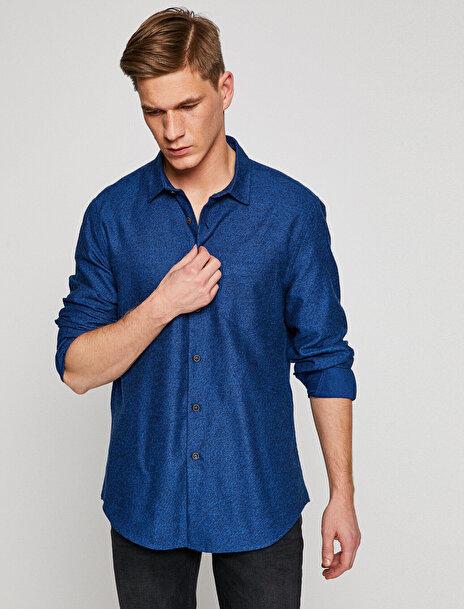 Erkek Klasik Yaka Gömlek